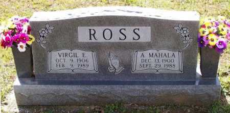 ROSS, AMANDA MAHALA - Lawrence County, Arkansas | AMANDA MAHALA ROSS - Arkansas Gravestone Photos