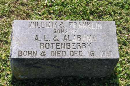 ROTENBERRY, WILLIAM - Lawrence County, Arkansas | WILLIAM ROTENBERRY - Arkansas Gravestone Photos