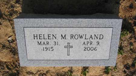 MASTERS ROWLAND, HELEN - Lawrence County, Arkansas | HELEN MASTERS ROWLAND - Arkansas Gravestone Photos