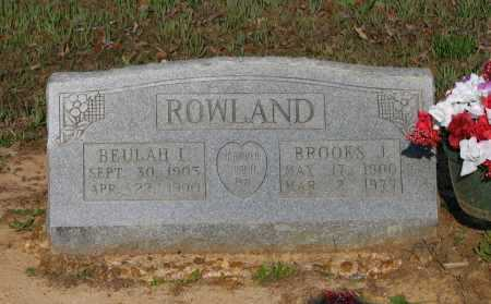 REEVES ROWLAND, BEULAH LEONA - Lawrence County, Arkansas | BEULAH LEONA REEVES ROWLAND - Arkansas Gravestone Photos