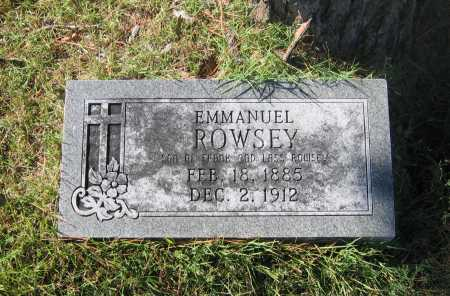ROWSEY, EMMANUEL - Lawrence County, Arkansas | EMMANUEL ROWSEY - Arkansas Gravestone Photos