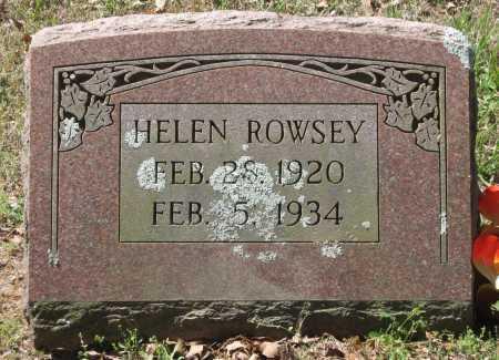 ROWSEY, HELEN - Lawrence County, Arkansas | HELEN ROWSEY - Arkansas Gravestone Photos