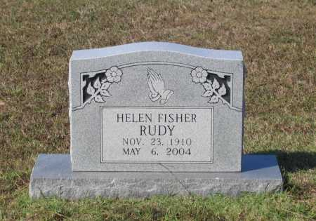 RUDY, HELEN FISHER - Lawrence County, Arkansas | HELEN FISHER RUDY - Arkansas Gravestone Photos