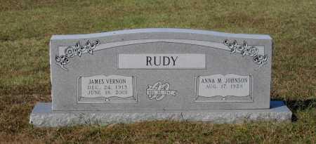 RUDY, JAMES VERNON - Lawrence County, Arkansas | JAMES VERNON RUDY - Arkansas Gravestone Photos