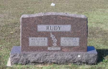 RUDY, WILLIAM BODINE - Lawrence County, Arkansas | WILLIAM BODINE RUDY - Arkansas Gravestone Photos