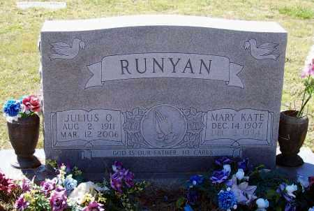 """RUNYAN, MARY CATHERINE """"KATE"""" - Lawrence County, Arkansas 