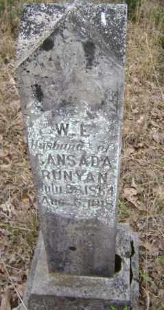 "RUNYAN, WILLIAM E. ""W. E."" ""BILLIE"" - Lawrence County, Arkansas | WILLIAM E. ""W. E."" ""BILLIE"" RUNYAN - Arkansas Gravestone Photos"