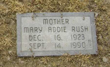 SUDDUTH RUSH, MARY ADDIE - Lawrence County, Arkansas   MARY ADDIE SUDDUTH RUSH - Arkansas Gravestone Photos