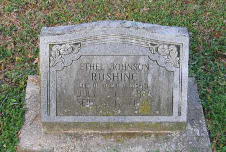 JOHNSON RUSHING, ETHEL - Lawrence County, Arkansas | ETHEL JOHNSON RUSHING - Arkansas Gravestone Photos