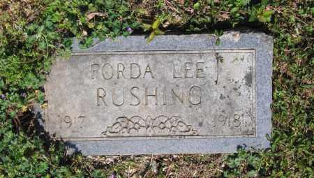 RUSHING, FORDA LEE - Lawrence County, Arkansas | FORDA LEE RUSHING - Arkansas Gravestone Photos