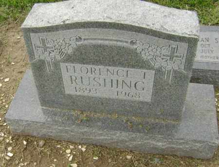 RUSHING, FLORENCE TENNESSEE - Lawrence County, Arkansas | FLORENCE TENNESSEE RUSHING - Arkansas Gravestone Photos