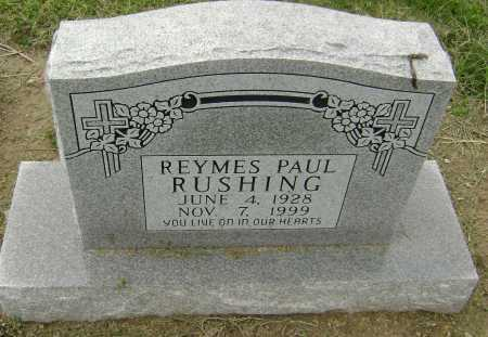 RUSHING, REYMES PAUL - Lawrence County, Arkansas | REYMES PAUL RUSHING - Arkansas Gravestone Photos