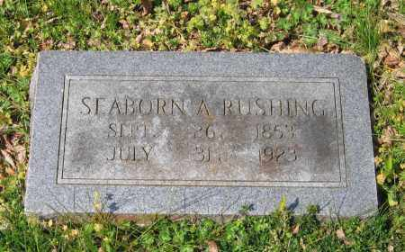 RUSHING, SEBORN A. - Lawrence County, Arkansas | SEBORN A. RUSHING - Arkansas Gravestone Photos