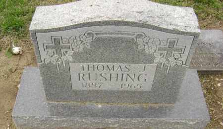 RUSHING, THOMAS JEFFERSON - Lawrence County, Arkansas | THOMAS JEFFERSON RUSHING - Arkansas Gravestone Photos