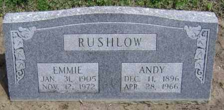 RUSHLOW, EMMIE ROSEMARIE - Lawrence County, Arkansas | EMMIE ROSEMARIE RUSHLOW - Arkansas Gravestone Photos