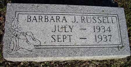 RUSSELL, BARBARA J. - Lawrence County, Arkansas | BARBARA J. RUSSELL - Arkansas Gravestone Photos