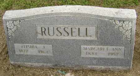 RUSSELL, MARGARET ANN - Lawrence County, Arkansas   MARGARET ANN RUSSELL - Arkansas Gravestone Photos