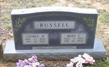 RUSSELL, GEORGE WASHINGTON - Lawrence County, Arkansas | GEORGE WASHINGTON RUSSELL - Arkansas Gravestone Photos