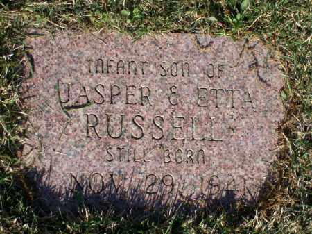 RUSSELL, INFANT SON - Lawrence County, Arkansas | INFANT SON RUSSELL - Arkansas Gravestone Photos