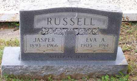 RUSSELL, EVA A. NEECE INGRAM - Lawrence County, Arkansas | EVA A. NEECE INGRAM RUSSELL - Arkansas Gravestone Photos