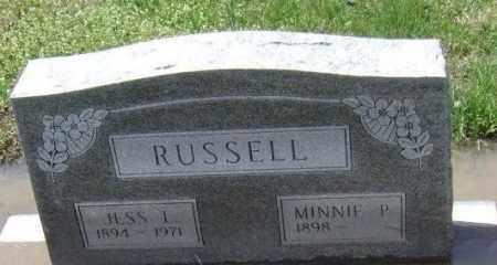 RUSSELL, MINNIE P. - Lawrence County, Arkansas | MINNIE P. RUSSELL - Arkansas Gravestone Photos