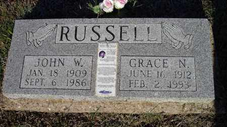 BOLDING RUSSELL, GRACE N. - Lawrence County, Arkansas | GRACE N. BOLDING RUSSELL - Arkansas Gravestone Photos