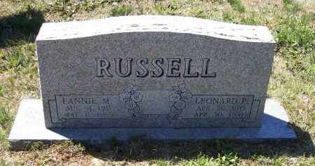 RUSSELL, LEONARD PAUL - Lawrence County, Arkansas | LEONARD PAUL RUSSELL - Arkansas Gravestone Photos