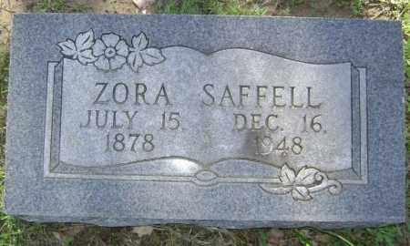 GODWIN SAFFELL, ADA BELLE ZORA - Lawrence County, Arkansas | ADA BELLE ZORA GODWIN SAFFELL - Arkansas Gravestone Photos