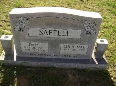 SAFFELL, LOLA MAE - Lawrence County, Arkansas | LOLA MAE SAFFELL - Arkansas Gravestone Photos