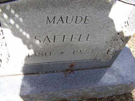 SAFFELL, ETHEL MAUDE - Lawrence County, Arkansas   ETHEL MAUDE SAFFELL - Arkansas Gravestone Photos