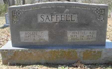 SAFFELL, HATTIE ARLENE - Lawrence County, Arkansas | HATTIE ARLENE SAFFELL - Arkansas Gravestone Photos