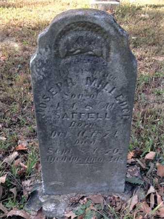 SAFFELL, JOSEPH MILLEDGE - Lawrence County, Arkansas   JOSEPH MILLEDGE SAFFELL - Arkansas Gravestone Photos