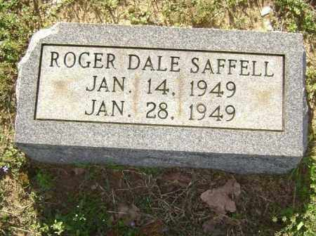 SAFFELL, ROGER DALE - Lawrence County, Arkansas | ROGER DALE SAFFELL - Arkansas Gravestone Photos