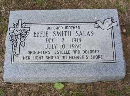 SALAS, EFFIE - Lawrence County, Arkansas | EFFIE SALAS - Arkansas Gravestone Photos
