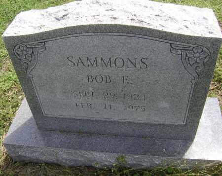 SAMMONS, BOB E. - Lawrence County, Arkansas | BOB E. SAMMONS - Arkansas Gravestone Photos