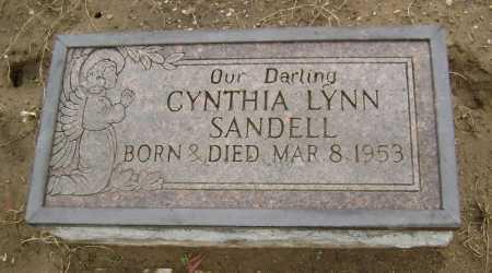 SANDELL, CYNTHIA LYNN - Lawrence County, Arkansas | CYNTHIA LYNN SANDELL - Arkansas Gravestone Photos