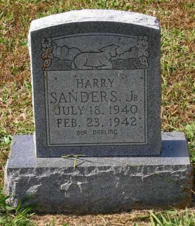 SANDERS, JR., HARRY OATS - Lawrence County, Arkansas | HARRY OATS SANDERS, JR. - Arkansas Gravestone Photos