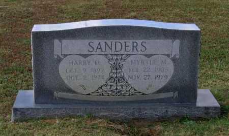 SANDERS, MYRTLE M. - Lawrence County, Arkansas | MYRTLE M. SANDERS - Arkansas Gravestone Photos