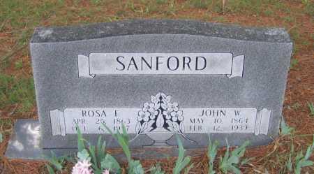 SANFORD, JOHN W. - Lawrence County, Arkansas | JOHN W. SANFORD - Arkansas Gravestone Photos