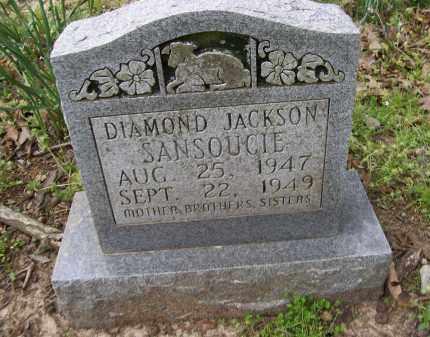 SANSOUCIE, DIAMOND JACKSON - Lawrence County, Arkansas | DIAMOND JACKSON SANSOUCIE - Arkansas Gravestone Photos