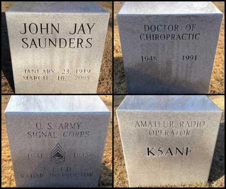 SAUNDERS (VETERAN), JOHN JAY - Lawrence County, Arkansas | JOHN JAY SAUNDERS (VETERAN) - Arkansas Gravestone Photos