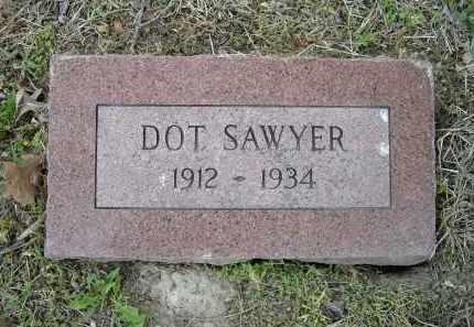 SAWYER, DOT - Lawrence County, Arkansas | DOT SAWYER - Arkansas Gravestone Photos