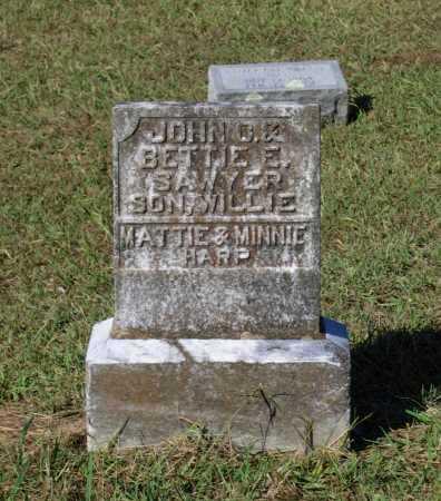 SAWYER, WILLIE - Lawrence County, Arkansas   WILLIE SAWYER - Arkansas Gravestone Photos