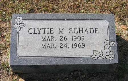SCHADE, CLYTIE MAE - Lawrence County, Arkansas | CLYTIE MAE SCHADE - Arkansas Gravestone Photos