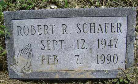 SCHAFER, ROBERT R. - Lawrence County, Arkansas | ROBERT R. SCHAFER - Arkansas Gravestone Photos