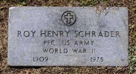 SCHRADER (VETERAN WWII), ROY HENRY - Lawrence County, Arkansas   ROY HENRY SCHRADER (VETERAN WWII) - Arkansas Gravestone Photos