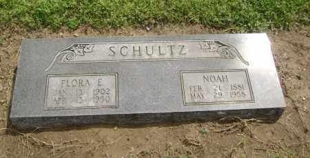 SCHULTZ, FLORA E. - Lawrence County, Arkansas   FLORA E. SCHULTZ - Arkansas Gravestone Photos
