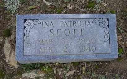 SCOTT, INA PATRICIA - Lawrence County, Arkansas | INA PATRICIA SCOTT - Arkansas Gravestone Photos