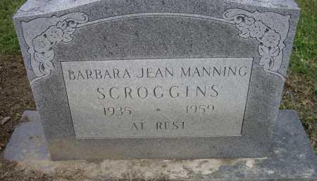 MANNING SCROGGINS, BARBARA JEAN - Lawrence County, Arkansas | BARBARA JEAN MANNING SCROGGINS - Arkansas Gravestone Photos