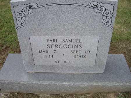 SCROGGINS, EARL SAMUEL - Lawrence County, Arkansas | EARL SAMUEL SCROGGINS - Arkansas Gravestone Photos